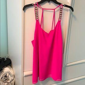 Hot Pink Flowy shirt!